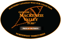 Genuine Mackenzie Valley Fur Label
